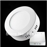 surface mounted 12w led panel light(174mm dia,LED lumen1080lm) AC85 265V CE&ROHS Kitchen Bathroom led light free shipping
