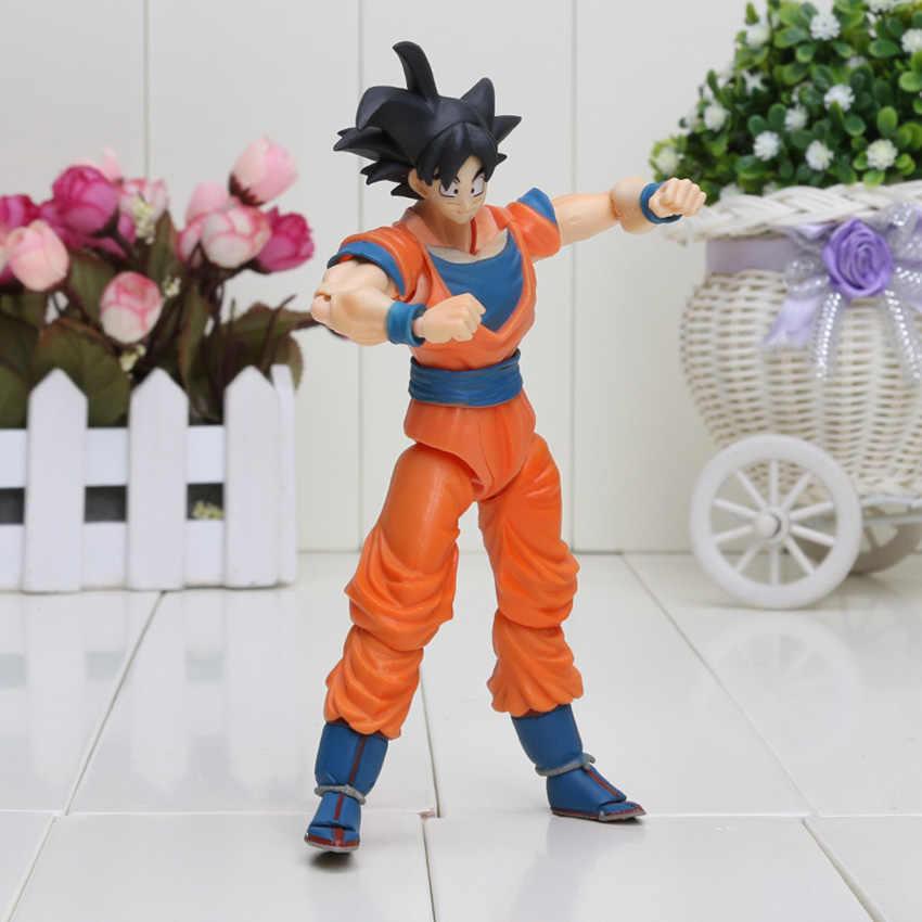 16 см аниме S. H. Figuarts СВЧ Dragon Ball Z Fukkatsu F Супер Saiyan Бог SS шорты «Вегета» Гоку SHFiguarts действие ингрушечная фигурка подарок