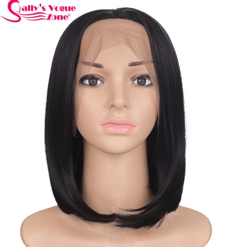 Sallyhair 12inch Lace Front Japanese High Temperature