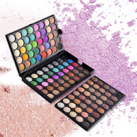 120 Colors Popfeel Eye Shadow Cosmetic Powder Nude Eyeshadow Palette Makeup Matte Natural Long Lasting Beauty Maquiagem