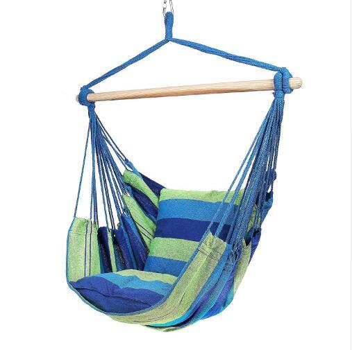 2019 New Indoor Outdoor Hammock Chair Hanging Chair Swing Chair Seat Garden Hammock(China)