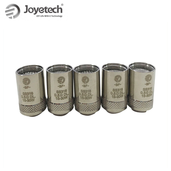 Joyetech – tête de bobine BF SS316, 0,5 ohm/0,6 ohm/1 ohm, pour CUBIS/ EGO AIO Series /Cuboid, kit de stylo Mini vapoteur pour E-Cigarette