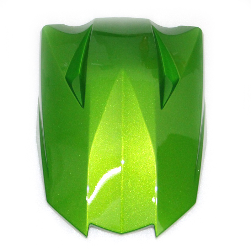 Green Motorcycle ABS Plastic Rear Seat Cover Cowl For Kawasaki  Z1000 2010-2013 black yellow motorcycle abs rear seat cover cowl for ktm duke 125 250 390 2011 2015