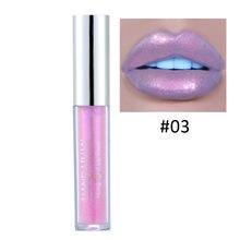 Долговечный блеск для губ ручной работы макияж мерцающих цветов