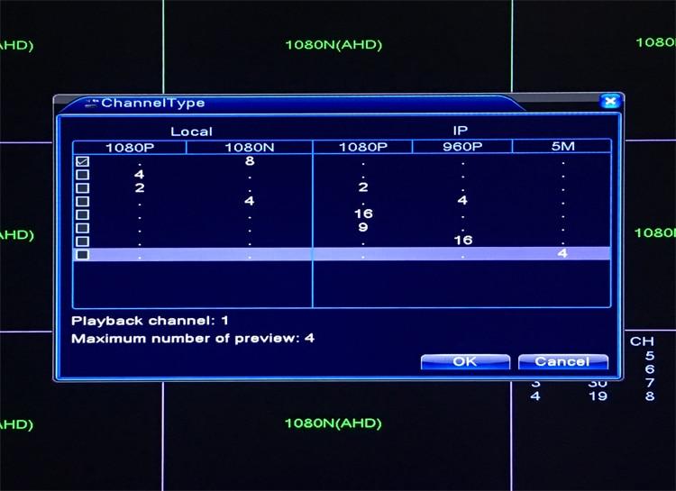 1080P, 960P, 720P, 960H CCTV kamera 1080N 8-kanalni 8CH hibridni 6 u - Sigurnost i zaštita - Foto 4
