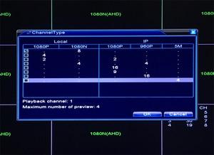 Image 3 - 1080P,960P,720P,960H CCTV Camera 1080N 8 Channel 8CH  Hybrid 6 in 1 WIFI XVI NVR TVI CVI AHD DVR Surveillance Video Recorder