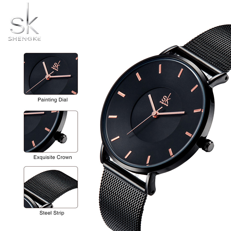 Women Wrist Watch Luxury Brand Gold Women Watches Stainless Steel Quartz Ladies Clock Woman Female Watches Relogio feminino 2018 women watches ladies gold silver stainless steel mesh band wrist watch luxury relogio feminino watches men luxury brand unisex