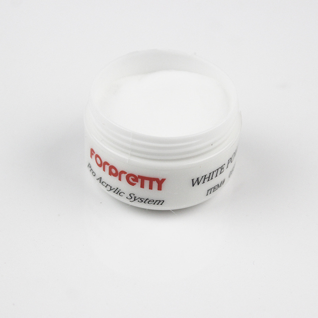 white acrylic powder