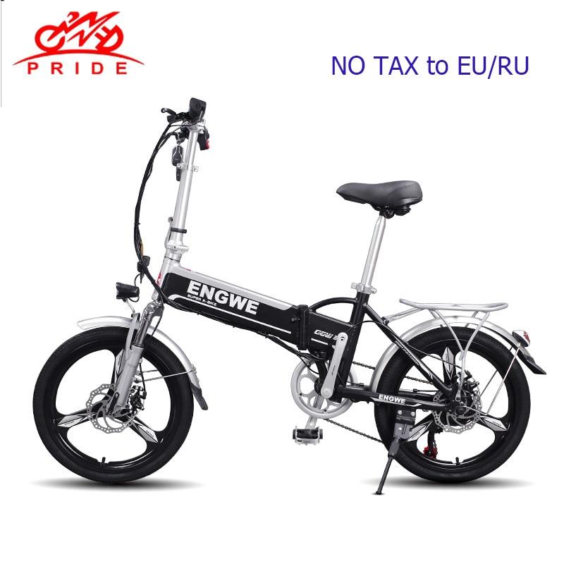 Bici elettrica 20 pollici In Alluminio Pieghevole Batteria Al Litio Bicicletta elettrica 500 W Potente e bike 48V12A Città/Neve bike montagna ebike