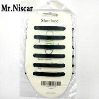 Mr Niscar 1 Set 12 Pcs Lazy Elastic Silicone Shoelaces Unisex Elastic Shoe Lace Arrow Shape