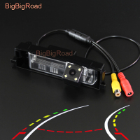 BigBigRoad Car Intelligent Dynamic Tracks Rear View Backup Camera For Toyota RAV4 RAV 4 RAV 4 2006 2007 2008 2009 2010 2011 2012