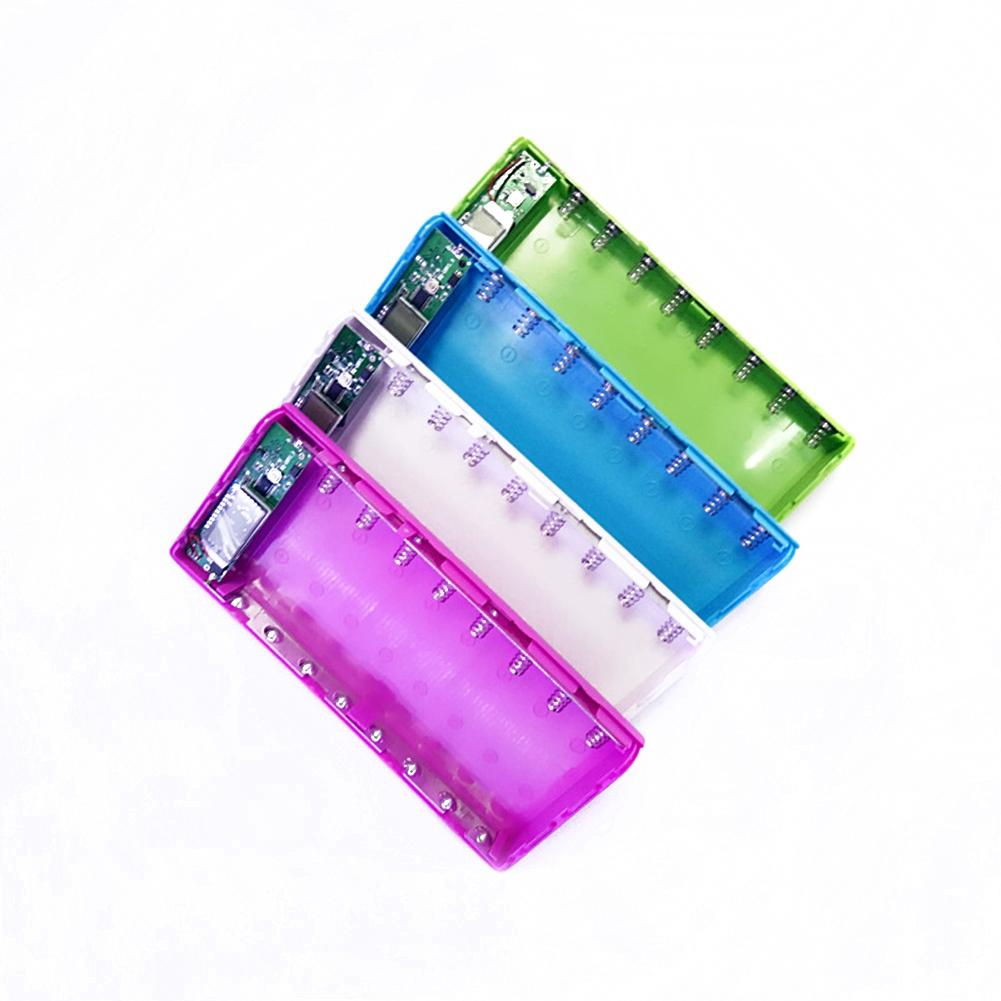 Tronsmart (sin Batería) 5 V 2A Dual USB Banco de la Energía DIY Portable 8x18650