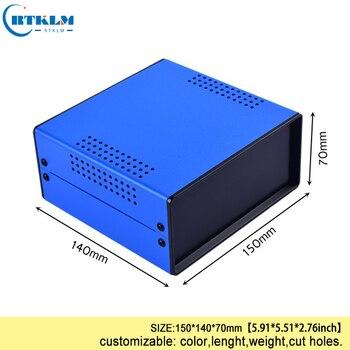 Demir Konut Elektronik Diy Enstrüman Durumda Proje Dökme Demir Elektrik Bağlantı Kutusu 150*140*70mm BDA40004 (W140)