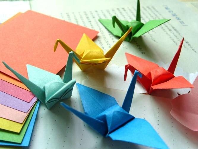 1200 Sheets Wedding Decoration Party Origami Paper Cranes77cm
