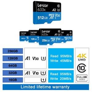 Image 2 - Lexar micro sd stick 95 mb/s 512gb micro sd karte sdxc/SDHC SPEICHER Karte Micro Sd für handy