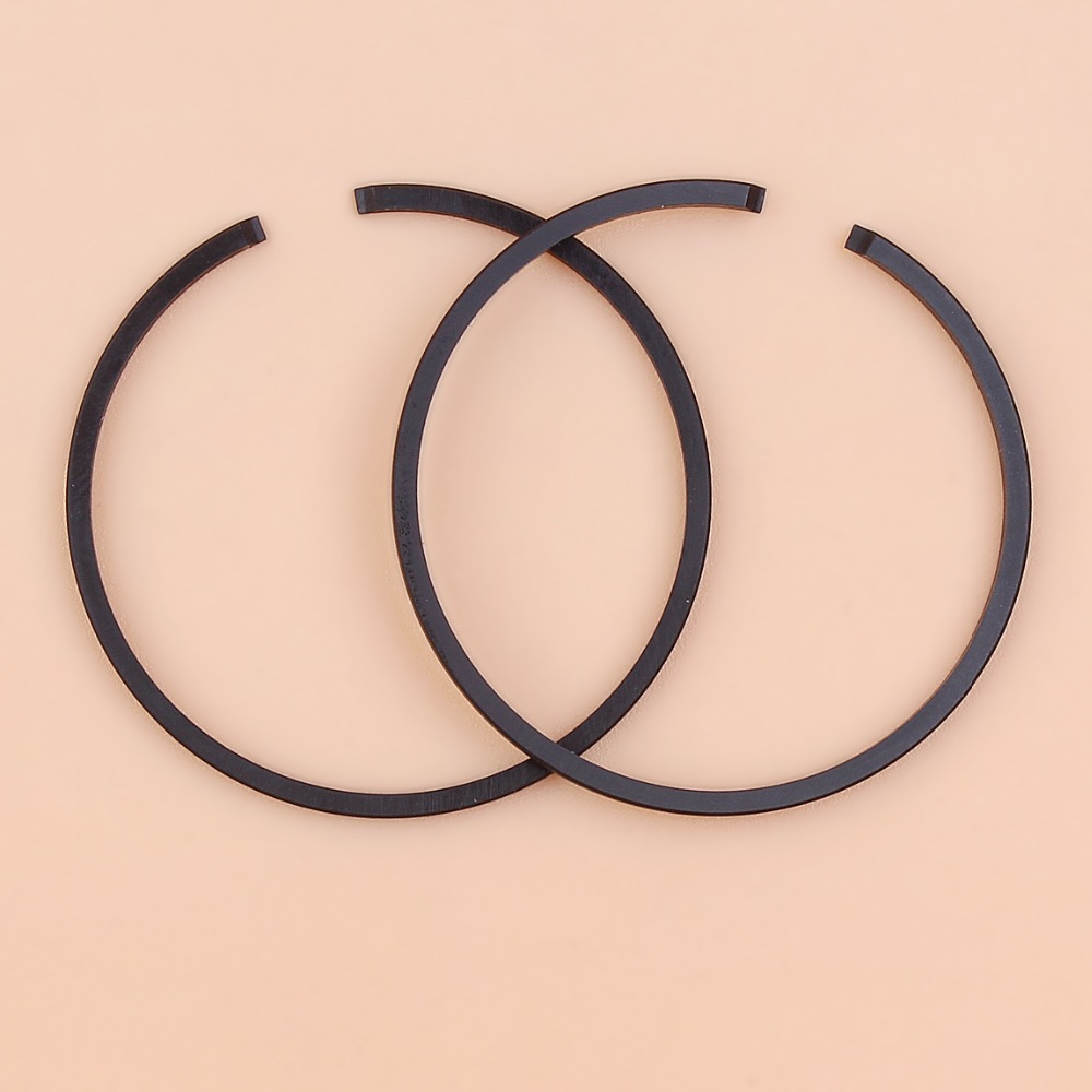 2Pcs/lot 35mm X 1.5mm Piston Ring Set For Husqvarna 124 125 128 Stihl FS120 FS160 Trimmer Brush Cutter Universal