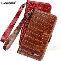 Crocodile Grain Genuine Leather Case For Samsung Galaxy S 8 S8 G9500 5.8
