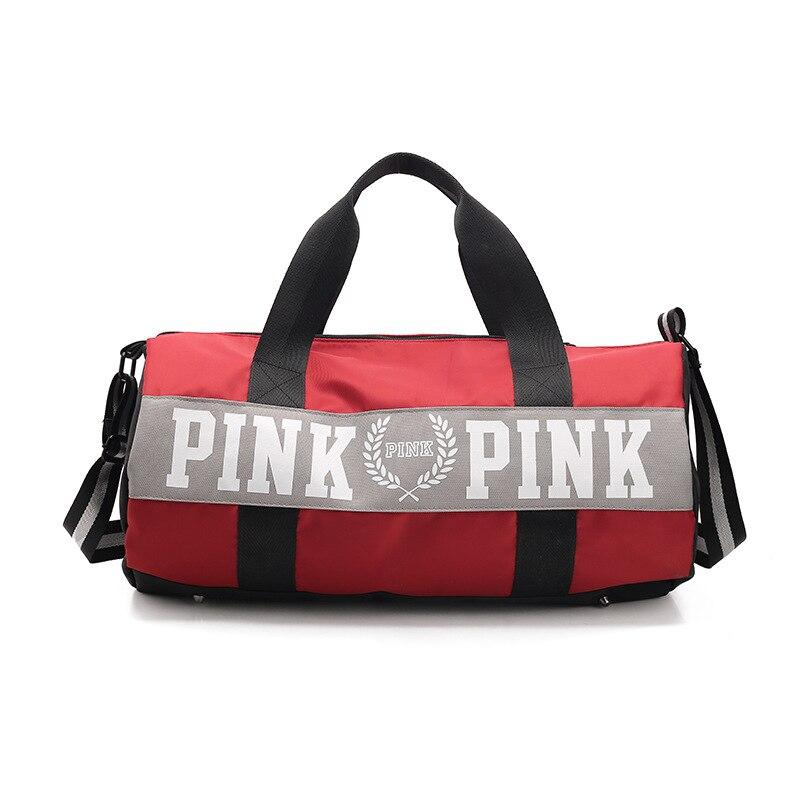Da Femminile Sport pink Bag Multifunzione Palestra Yoga Borsone Donne blue Zerbino Grande Sporttas Spalla Outdoor Borsa Fitness Grey red Di Uomini De Sac black A4nFqO