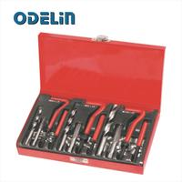 88Pc Thread Repair Kit Set Rethread M6 M8 M10 Damaged Thread Garage Tool PT1040