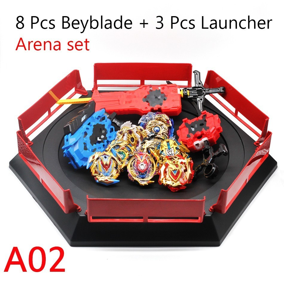 Drop Shipping <font><b>Beyblade</b></font> <font><b>Burst</b></font> <font><b>B139</b></font> Toys With Launcher Starter And Arena Bayblade Metal Fusion God Spinning Tops Bey Blades Toy image