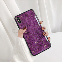 Marble Case For Samsung Galaxy S9 S8 PLUS S7 Edge Platinum Glitter silicone Cover Case For Samsung Note 9 8 Soft TPU phone cases