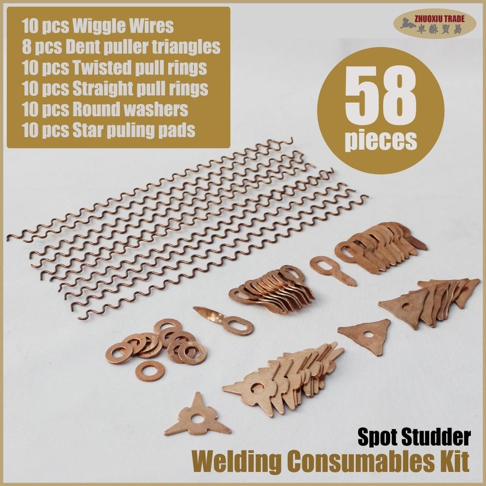 weld washers welding accessories spot spotter stud welder car body dent repair tools removal sheet metal working bit wire auto