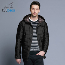ICEbear 2018 new men's light coat fashion winter male's jacket high quality warm cotton clothes casual brand clothing  MWD18899D