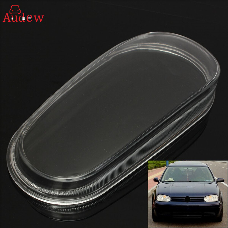 Right/Left Passenger Side Glass Headlight Lens Cover Shell Housing For VW 1999-2005 MK4 Golf GTI R32 starpad for zongshen 200gy 2 shell zongshen 200gy 2 side cover nakedness desert flying fox side cover housing