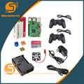 UK RS Versione Raspberry pi 3 + dissipatore di Calore + Custodia in ABS Box + 5V3A caricatore di potere della spina + GPIO kit + 1.5 m HDMI per Raspberry pi 3 B