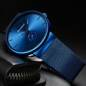 Image 3 - Readeel Watch Men Fashion Sport Quartz Watch Clock Mens Watches Luxury Casual Full Steel Waterproof Wristwatch Relogio Masculino