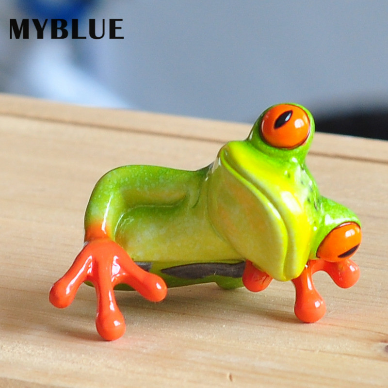 MYBLUE 2Pcs / Set Kawaii Արհեստական - Տնային դեկոր - Լուսանկար 5
