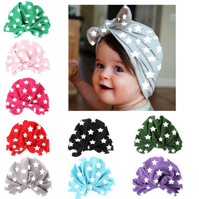 Lawadka Star Baby Hat Children Baby Caps Girls Boys Hats Newborn Photography Props Beanies Accessories