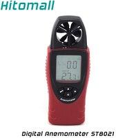 Chuyên nghiệp Tốc Độ Gió Kiểm Tra Meter Đa Chức Năng Kỹ Thuật Số Máy Đo Gió Speed Air Nhiệt Độ Nhiệt Độ Ẩm ST8021