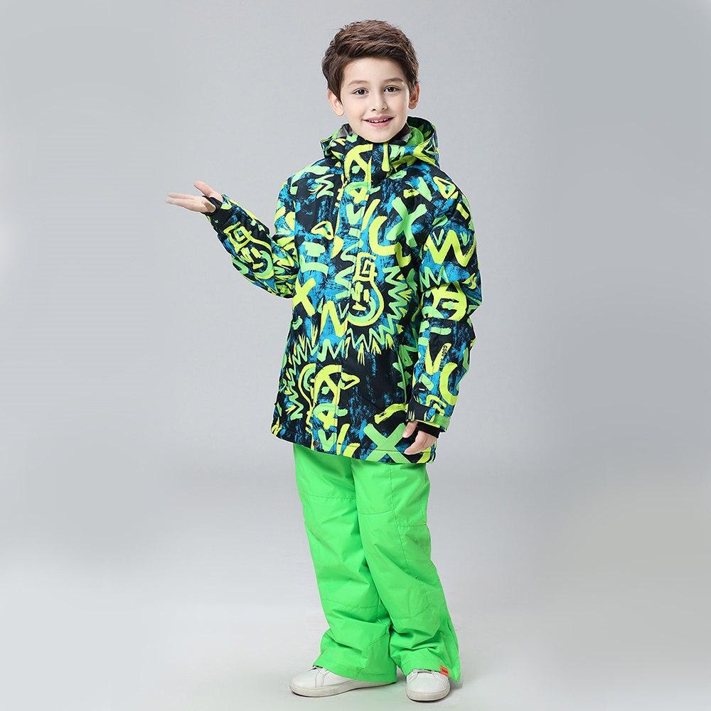 New winter boy jacket children ski wear 2017 windproof ski jackets children girls boys outdoor warm coat snow clothings 2016 hot child girl winter outdoor ski snow windproof hiking warm jacket coat new
