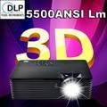 Дешевые 5500 Люмен DLP 3D Проектор зумом 1.1X HD данные показывают Цифровой HDMI 1080 P Проэктор Для Образования Electric доски