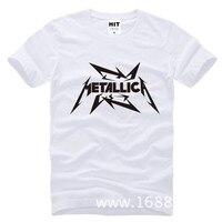 Metallica Hard Metal Rock Band Men S T Shirt T Shirt For Men 2015 New Short