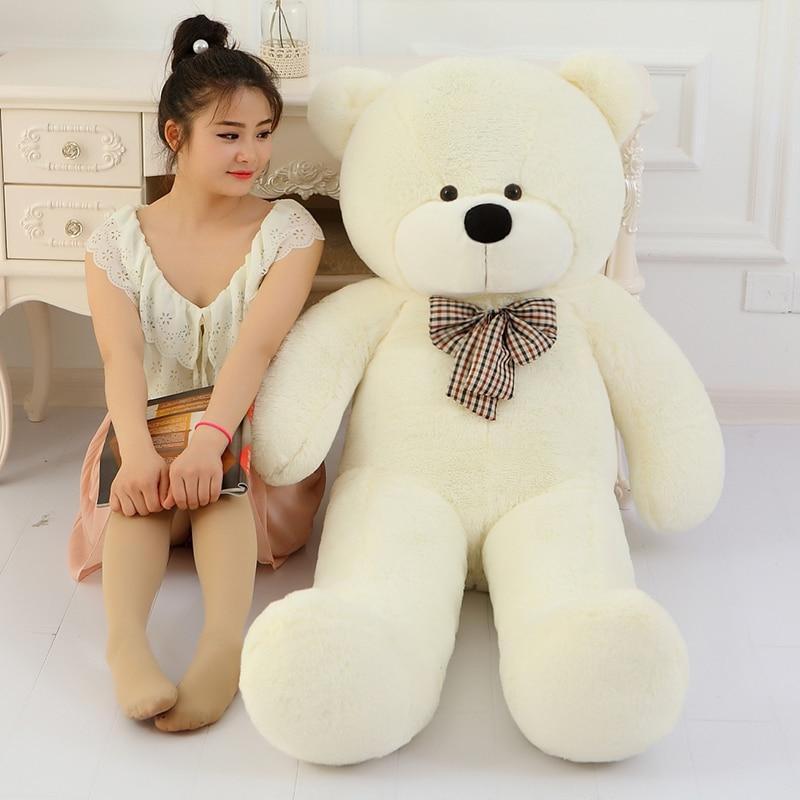 1 Huge Teddy Bear Stuffed Plush Toy 100cm 1m Big Doll TOY Present Gift