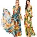 Summer/autumn women's dresses maternity  Bohemia Dresses maternity long dresses clothing pregnant dress 16872