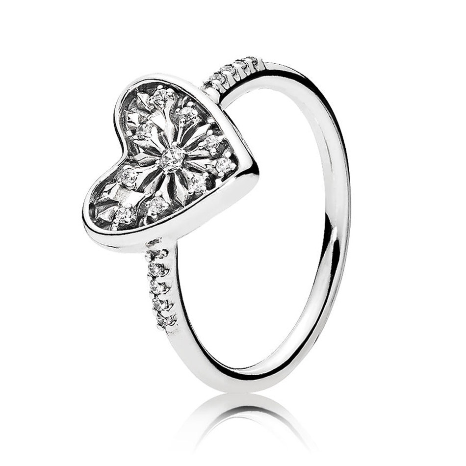 49439e8d4da6f 925 Silver Wildflower Meadow Ring for Women Light As A Feather Delicate  Sentiments Floral Fancy Ring fit Lady Jewery-in Rings from Jewelry & ...