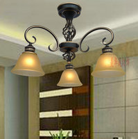 dining room bedroom creative lamp pendant light penthouse floor antique lighting special offer outline gold ZX26