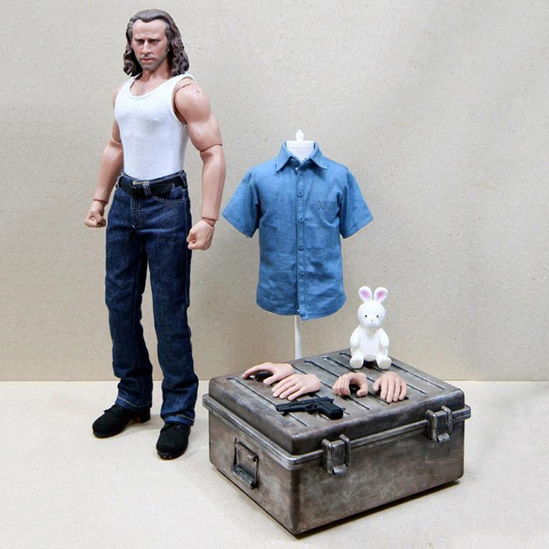 1/6 Scale Nicolas Cage Con Air Full Set Whole Box Figures for Toys Gifts Collections 2