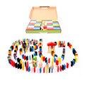 480 шт. Животных Головоломка Пасьянс Домино Детей Стандартный Domino Деревянные Игрушки Раннего Детства Обучающие Игрушки Игры