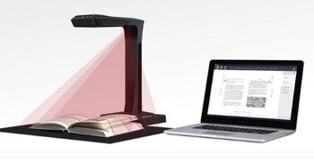 Escáner inteligente de alta velocidad libros escáner de alta definición visualizador digital VGA HDMI 18M píxeles escáner presentador Visual