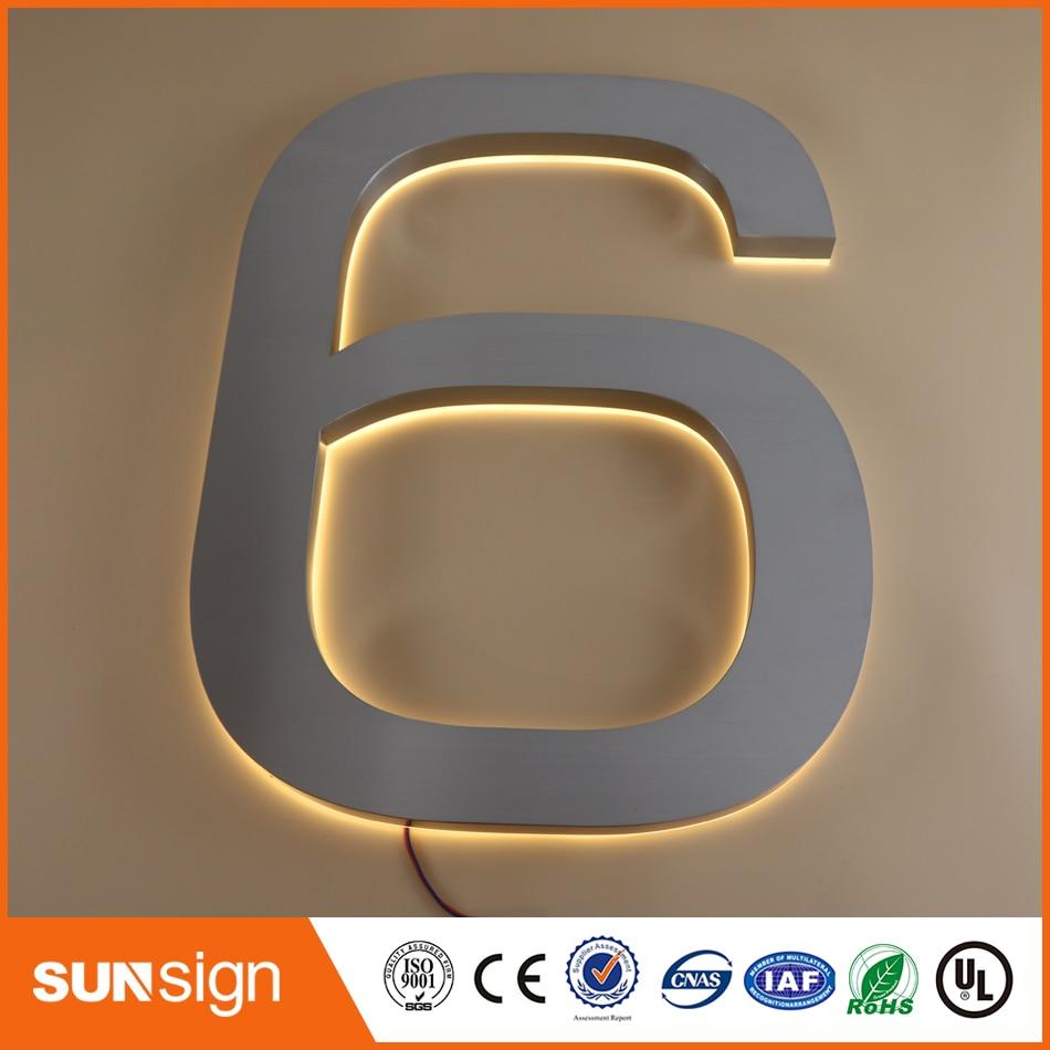 Online Shopping 3d Led Letter Sign Outdoor Sign Board Material Diy Led Backlit Channel Letter Sign