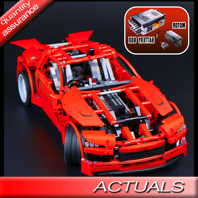 1281pcs Lepin 20028 Technic Supercar Building Blocks With Electric