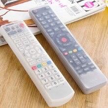 Universal tv controle remoto silicone caso elástico à prova delastic água protetor capa para ar condicionado tv conjunto ferramentas à prova de poeira