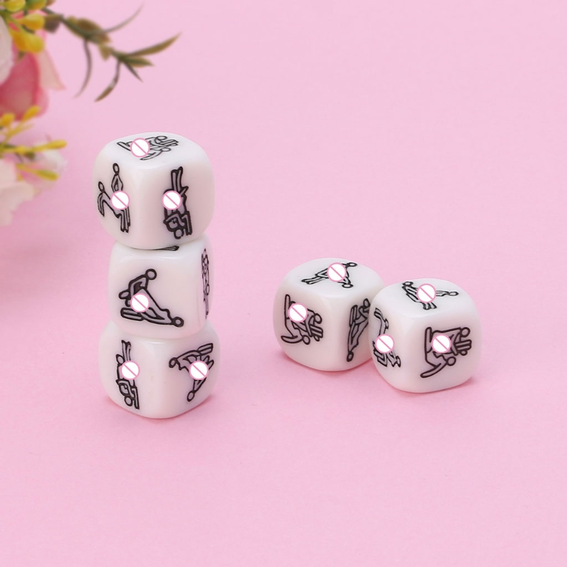 20mm Adult Sex Dice Erotic Poses Couple Funny Sexy Love Toy Night Bar Humor Game