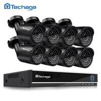 8CH 1080P HDMI DVR AHD M HD CCTV System 8PCS 1200TVL 720P Camera Outdoor Waterproof Night