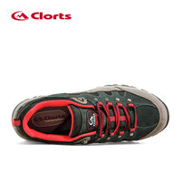 Clorts Trekking Shoes for Men Waterproof Hiking Shoes Suede Leather Men Mountain Shoes Outdoor Shoes HKL-815A/B 4