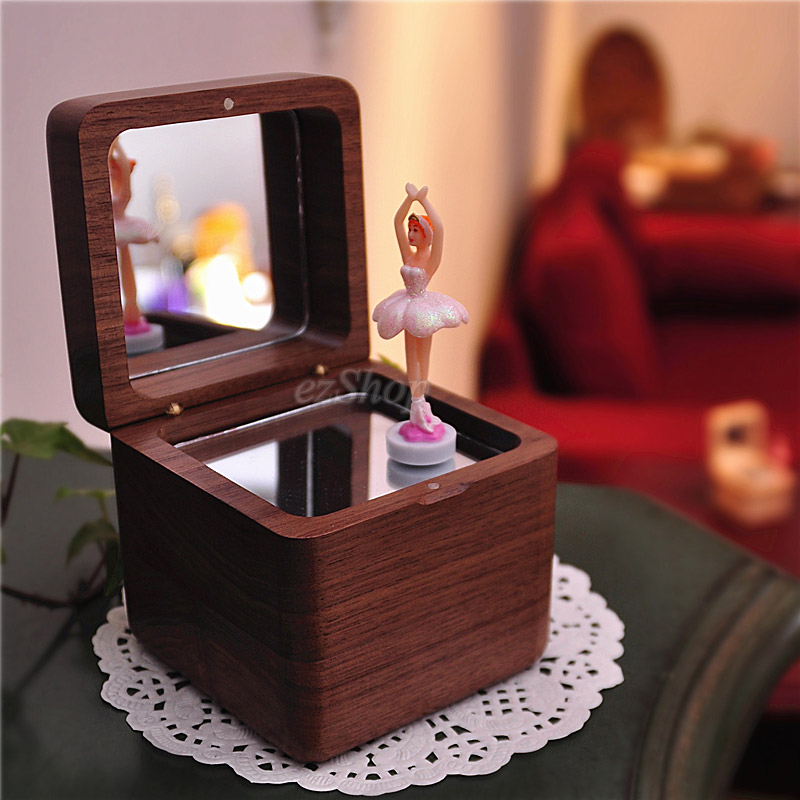 Excellent Quality Wooden Musical Ballerina Jewelry Box Wooden Craft Perfect Gift for Friend and Family